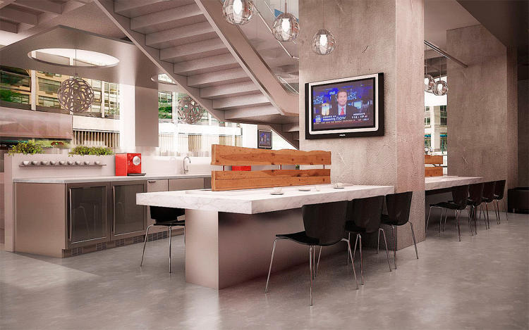<p>Another look at the New York office of Regus, which offers flex space to more than a million people a day worldwide.</p>