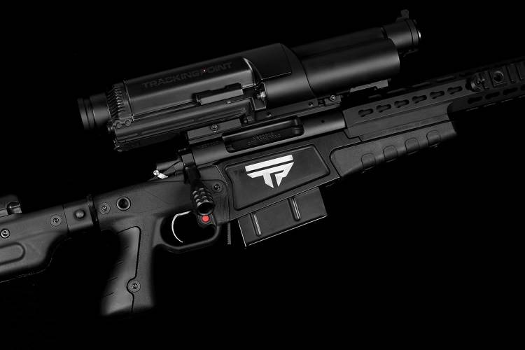 <p>TrackingPoint is a high-end firearms firm that produces Linux-powered weapons which can lock onto a target from 1,000 yards away. The company's cheapest model starts at $17,500 and comes with an included iPad mini--their weapons have built-in cameras which film hits and send them to social media.</p>