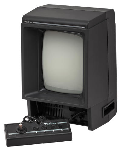 <p>Weird and wonderful, with its own 9-inch built-in cathode ray tube, the Vectrex could play Asteroids just like you were in a very small video arcade. But it was bulky, limited in potential games design and suffered from a collapse of the video game market in 1983. It was never a commercial success.</p>