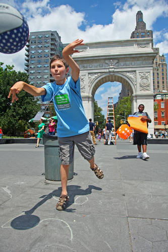 <p>At MobileQuest summer camp in NYC, sixth graders turn great ideas into great location-based mobile games.</p>