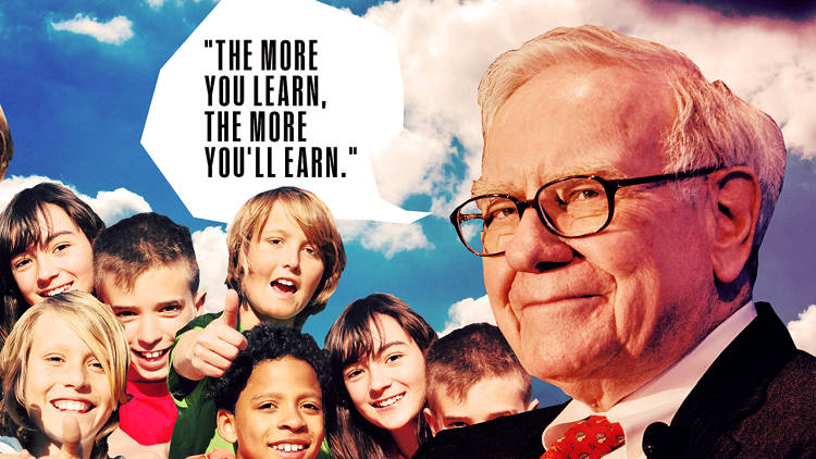 <p>Buffett offers timeless wisdom to tweens in his animated series, <em>Secret Millionaires Club</em>. Here are some of those bits of wisdom, such as, &quot;The more you learn, the more you'll earn.&quot;</p>