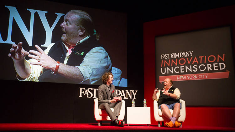 <p>Mario Batali said his approach to dealing with haters on Twitter is to retweet their messages verbatim.</p>