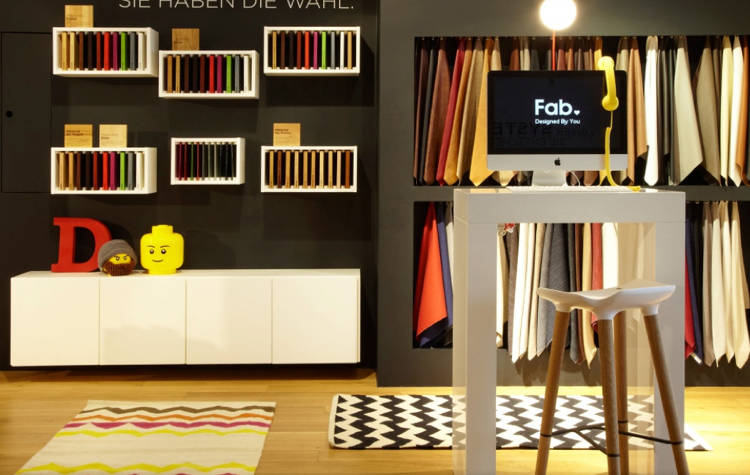 <p>This is the first of multiple Fab retail stores that will open within the year, the second of which will also be in Germany, Goldberg says.</p>