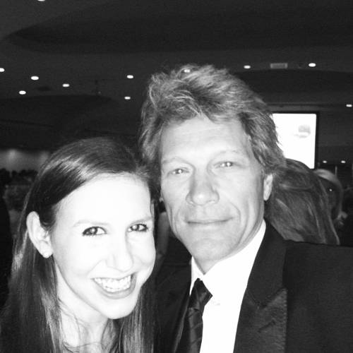 <p>Bon Jovi with Schweitzer.</p>  <p>All photos from <a href=&quot;http://instagram.com/cschweitz/&quot; target=&quot;_blank&quot;>Callie Schweitzer's Instagram account</a>.</p>