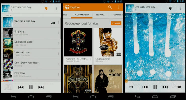 <p>Google Play Music All Access costs a standard $9.99 a month, or $7.99 if you sign up before June 30.</p>