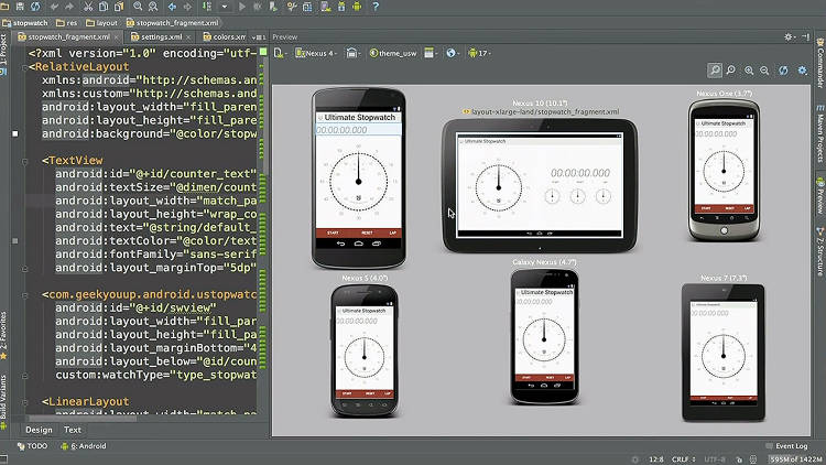 <p>The Android Studio tool allows developers to render updates to their apps' live code in real time. It also lets you preview an app's layout for different device screen sizes and languages.</p>