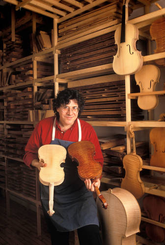 <p>Samuel Zygmuntowicz is a luthier, meaning he makes and repairs stringed instruments like violins. He's also the creative director of <a href=&quot;http://strad3d.org/cms/&quot; target=&quot;_blank&quot;>Strad3D</a>, a project using technology to analyze how great violins vibrate to produce their distinctive sound.</p>