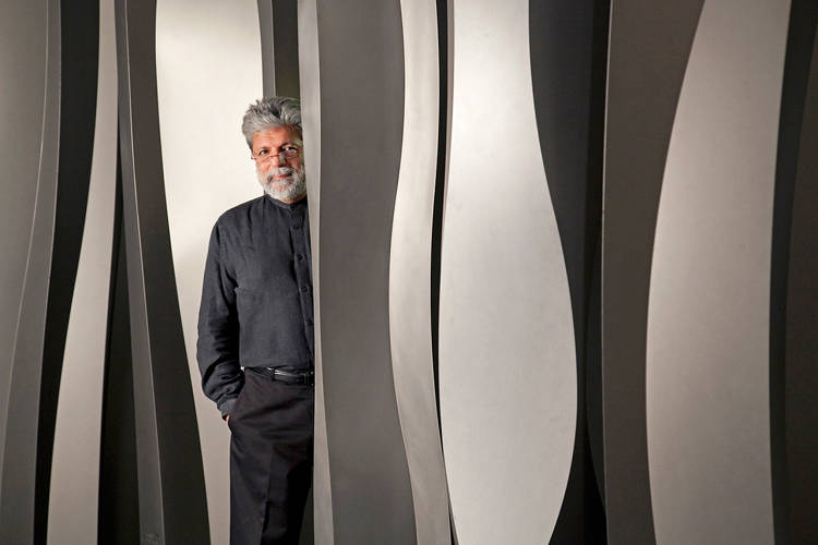 <p>Haresh Lalvani, a professor at Pratt Institute, creates sculpture, architecture, and other forms of design.</p>