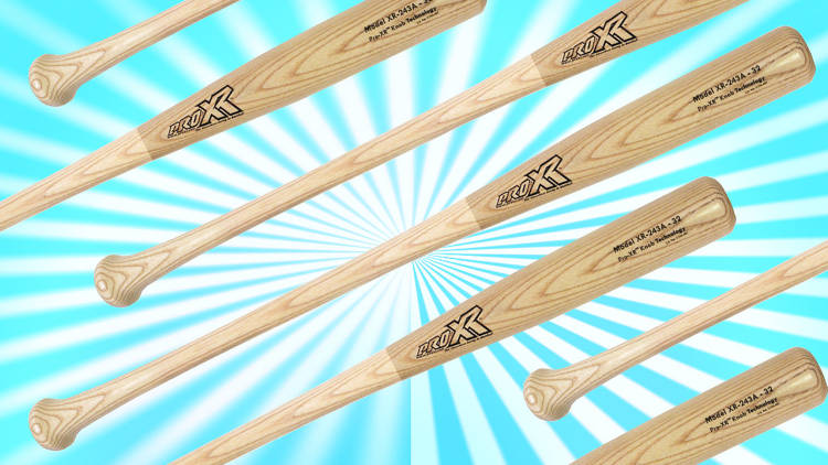 <p>The ergonomic <a href=&quot;http://www.fastcodesign.com/1672956/the-100-baseball-bat-that-could-save-the-major-leagues-millions&quot; target=&quot;_self&quot;>ProXR</a> should spell the end of the simple wood bat era in MLB. Find out why baseball is slow to make the change.</p>