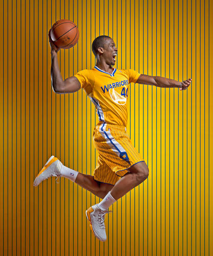 "<p><strong>Golden State Warriors, 2013</strong>  <br /> ""I wouldn't want to wear it,"" says Jones. ""It seems more appropriate for the Harlem Globetrotters. I hate to use the word clownish, but it looks like a clown suit.""</p>"