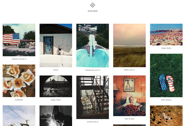 <p>In a measure of simplicity, users' photo grids stand in for profiles.</p>