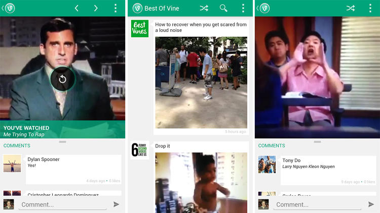 <p>You're either probably on Vine or are obsessively watching Vines. But let's be honest--it's really, really hard to find top quality Vines. So download Best of Vine if you don't want to miss out on the gems.</p>
