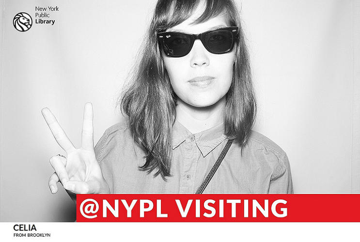 <p>These photobooth shots were snapped at the New York Public Library as part of a new social media initiative to engage more with the library's selfie-loving patrons, and the live photostream is making our hearts melt.</p>