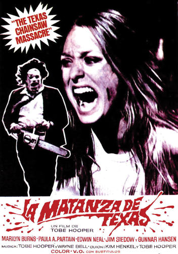"<p>The Spanish poster for ""The Massacre from Texas.""</p>"