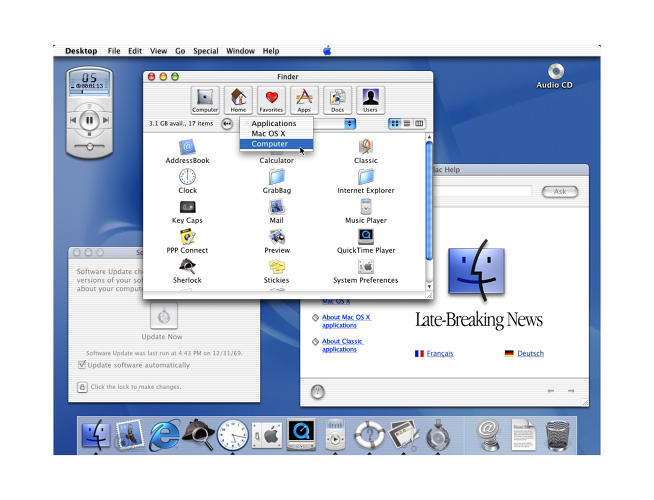 <p>&quot;Good enough to lick&quot; was the idea behind Aqua, the shiny, water-like user interface seen throughout OS X.</p>