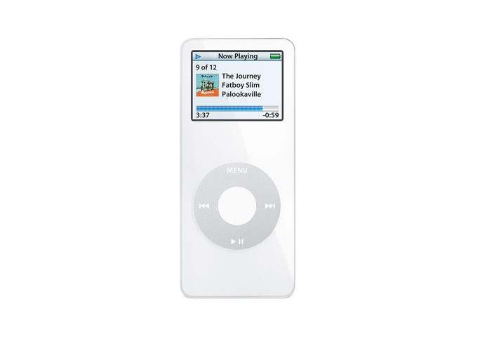 <p>Steve Jobs famously pointed at the coin pocket on his jeans and said &quot;Ever wonder what this pocket is for?&quot; when he introduced the iPod Nano in 2005. It was small, had a color screen and seen as a replacement to the popular iPod Mini.</p>
