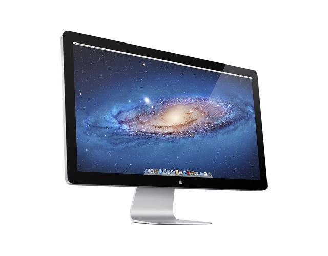 <p>The replacement to previous flat panel displays, the Thunderbolt was a harrowingly large 27&quot; display and backwards compatible with previous Apple inputs.</p>