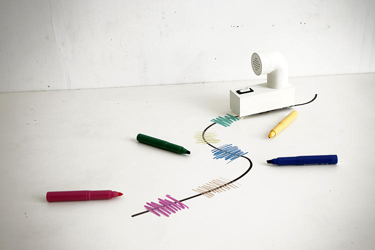 <p>Artist Yuri Suzuki's Looks Like Music project lets you draw music with a magic marker.</p>