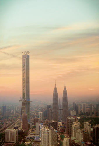 <p>Urban Makeovers | <strong>New Petronas Tower, completed in 2042, Kuala Lumpur</strong></p>