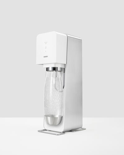 <p>The SodaStream Source was designed by Yves Behar and Fuseproject to bring the home-carbonating machine into the 21st century.</p>
