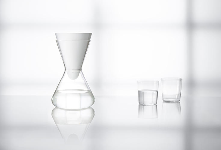<p>Unlike a Brita filter, Soma's glass carafe is attractive enough to keep out for guests, and customers can subscribe to have a compostable water filter delivered right to their door bi-monthly.</p>