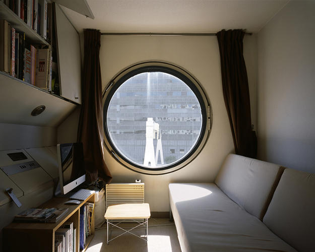 <p>Today, Minami says half the occupied capsules are offices, and those used as apartments house young and old, men and women, functioning as everything from weekend second homes to cheap, primary housing.</p>
