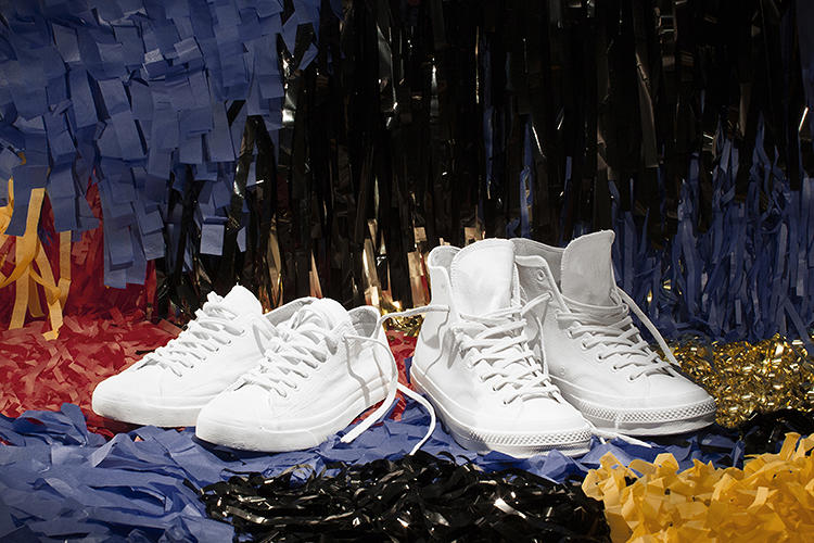 <p>Paris-based avant-garde fashion label Maison Martin Margiela collaborated with Converse in creating a one-of-a-kind spin on the classic Converse All Star sneakers.</p>