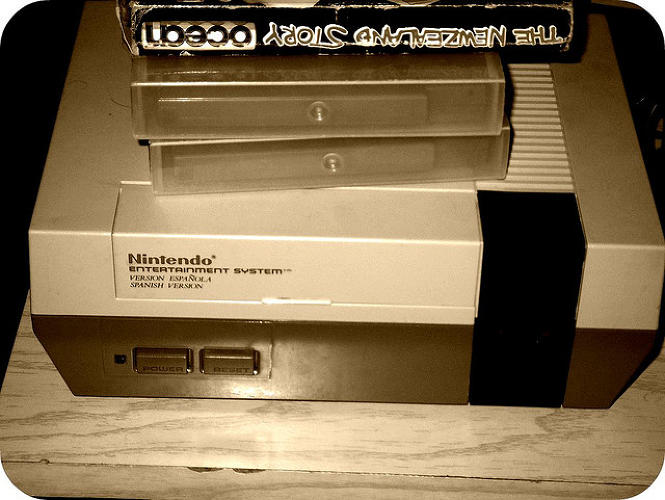 <p>The firm's first foray into electronic gaming was the Nintendo Entertainment System console, a clever remarketing of the Famicom, as it was known in Yamauchi's home country. [Image: Flickr user <a href=&quot;http://www.flickr.com/photos/eltabernero/2579929277/sizes/z/in/photolist-4VYP6g-KD2c9-cAkokL-cAko89-5yt9dH-Qu73-5SV7wV-4BNoyb-7CAEnj-532jfM-CLfu8-7CABE7-7CwNog-7CADrE-7vUGN6-69qgux-eqLudL-epQewc-dKF1Nw-eqLun7-eqLtXU-7pnneL-atzcqL-3rQsjR-6JKg3z-ybXpx-atv8un-atwwpD-atzcgo-5wgpfp-e1t3TM-bq8FMN-7czrZY-4zBhZu-boq2Sz-6fjBm-5SZsgA-DWvcn-6ccpP4-6cgybJ-6ccpGH-d38Bu-6ccpQF-6cgzHs-bmQErB-dcy7Kw-7S5QYg-JszJ-5r9Agj-5DWrc6-qv2dD/&quot; target=&quot;_blank&quot;>El Tabanero</a>]</p>