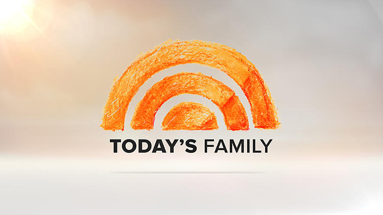 <p>The sunrise is drawn with a persimmon crayon for <em>Today's Family</em>.</p>