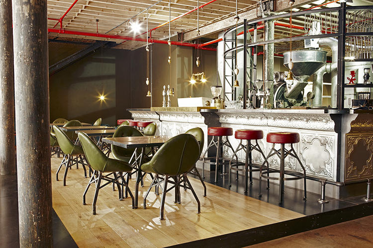 <p>Haldane Martin Design completed the interiors of the bar, housed in a turn-of-the-century warehouse and packed with bespoke accoutrements.</p>