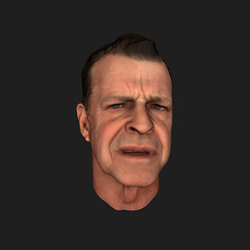 <p>John Noble (Leland Monrol) is faithfully recreated with MotionScan, every mannerism, imperfection and nuance of his performance is captured for the game</p>
