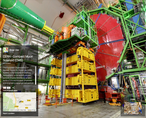 <p>Now CERN has graciously opened its doors to Google's Street View.</p>