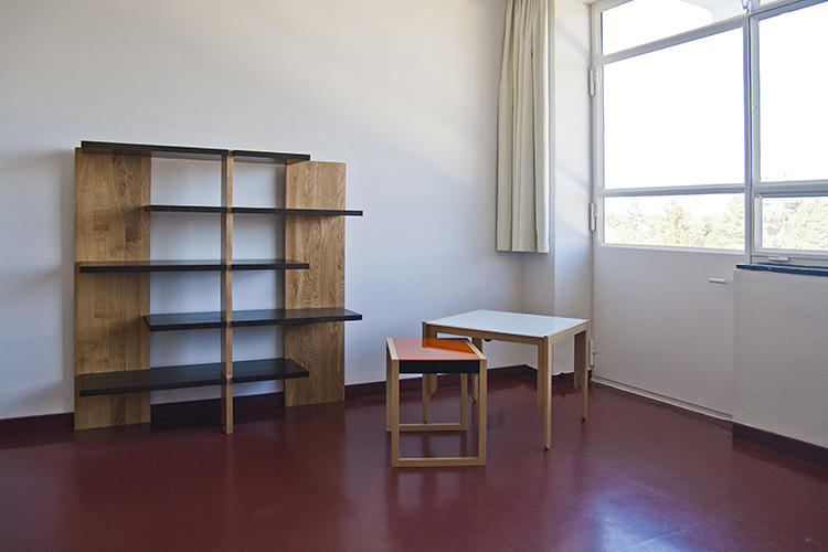 <p>The Albers room is one of the three new personalized rooms, with furniture designed by the famous design couple.</p>
