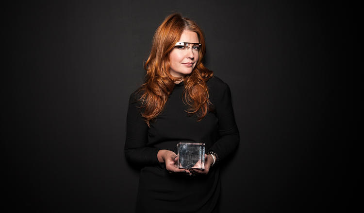 <p>Isabelle Olsson, lead designer, Google Glass.</p>