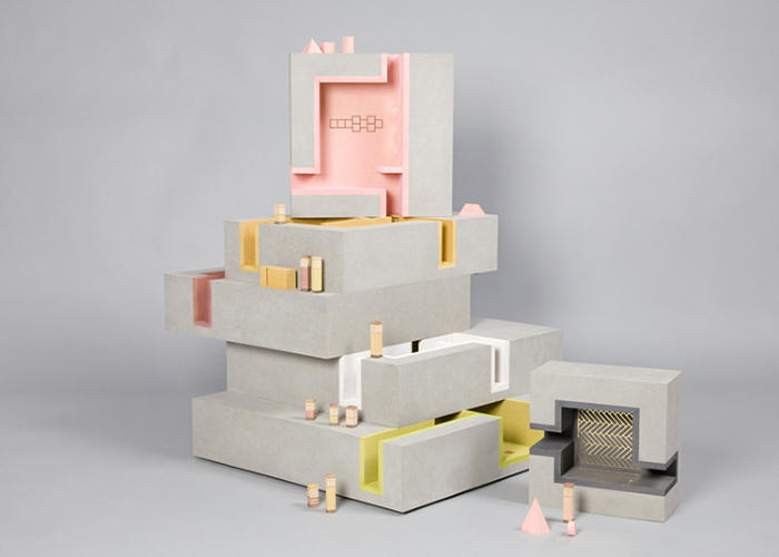 <p>The stacking theme again, seen in <em>Multi-Story</em> by Duggan Morris Architects with Unit 22 Modelmakers.</p>