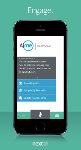 <p>Patients are able to ask the virtual assistant questions that they might be hesitant to ask their doctor.</p>