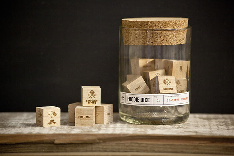 <p>Can't decide--again--what to cook? That's what Foodie Dice are for.</p>