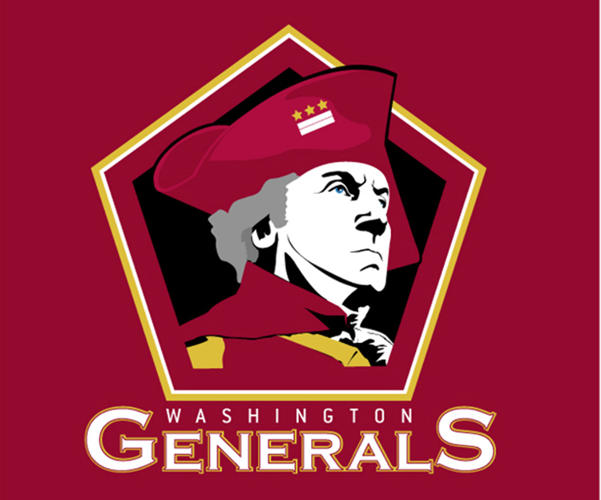 <p>The Washington Generals, by 99Design user <a href=&quot;https://99designs.com/users/1374626&quot; target=&quot;_blank&quot;>Tlechleiter</a>.</p>