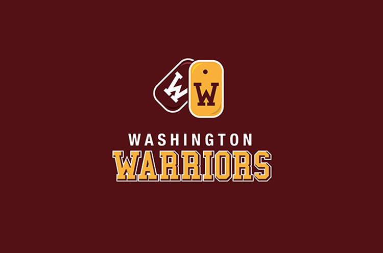<p>Another take on the Washington Warriors, by 99Design user <a href=&quot;https://99designs.com/users/804614&quot; target=&quot;_blank&quot;>levimdesign</a>.</p>