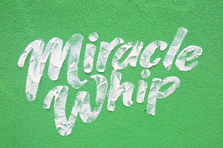 <p>The Miracle Whip logo.</p>