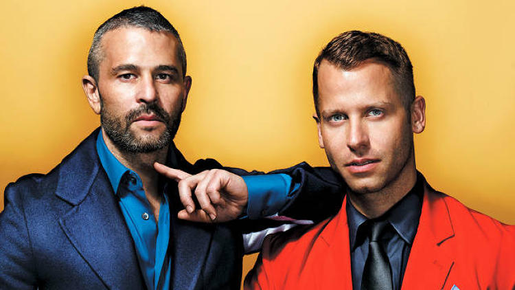 "<p>Jason Goldberg, CEO<br /> Bradford Shellhammer, chief design officer</p>  <p>What started as a dud of a gay social-networking site called Fabulis has now turned into a network of makers that exceeds 20,000. The duo at the top are a match made in heaven: ""I've always felt like I had something to say in this world, and I didn't know how to say it,&quot; says Shellhammer, Fab's chief design officer, a people collector with ""100 best friends."" &quot;And Jason has always felt like he wanted to do something in this world, but he didn't know how to get people to look at him.&quot; Their democratic approach toward retail means they consider the chili-lime beef jerky Fab carries to be as well designed as an Eero Aarnio Trioli chair. This anti-elitism, combined with a commitment to quality, means Fab may soon be a household name.</p>"