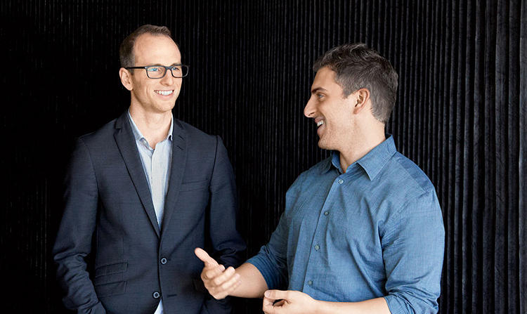 "<p>Brian Chesky, CEO<br /> Joe Gebbia, chief product officer</p>  <p>Chesky and Gebbia founded Airbnb by solving a problem through design: They couldn't pay the rent, so they opened up their home to guests. Now, the startup is a household name and growing faster than ever. Chesky says, ""At RISD, they asked us, 'How do you get design in the boardroom?' And I always thought, 'What if design ran the boardroom?'""</p>"