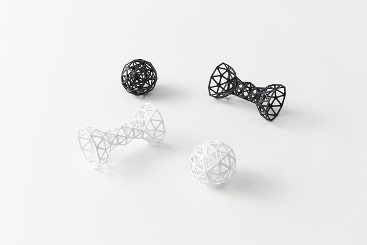 <p>Buckminster Fuller's dog might've appreciated bones and balls like these.</p>