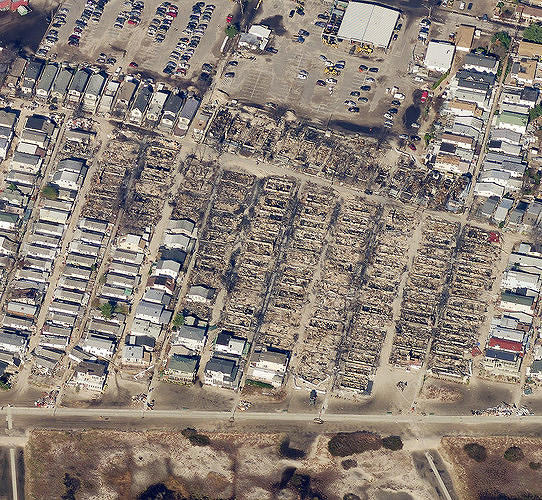 <p>In some places, facilities averaged $350,000 worth of damage.</p>