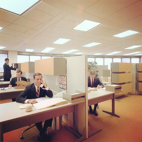 <p>Another version of the Action Office. Less groovy.</p>