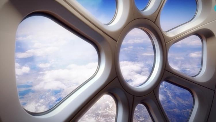 <p>The gondola will be large enough for eight passengers to walk around, and will be fitted with luxuries like a bar and giant cupola-like windows that offer a great view.</p>