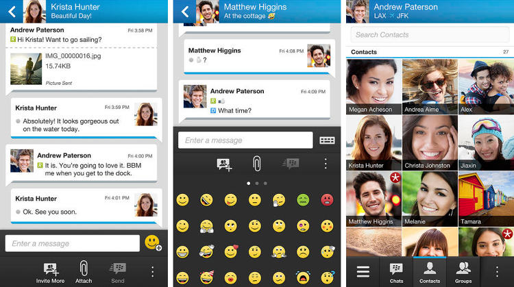 <p>BlackBerry's long awaited messenger app is here and people are excited: Within just 24 hours of the app's release, it was downloaded over 10 million times.</p>