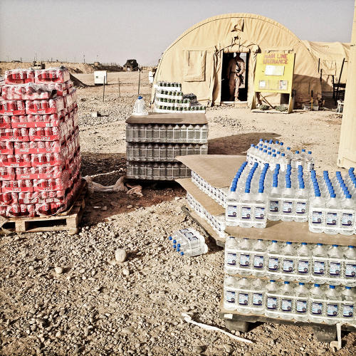 <p>In the final weeks before FOB Geronimo closed in Helmand this summer, food services became barebones . . .</p>
