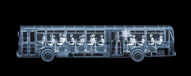 <p>Of his dream X-ray subjects, photographer Nick Veasey says, &quot;I'd love to shoot a tank and a giant submarine.&quot;</p>