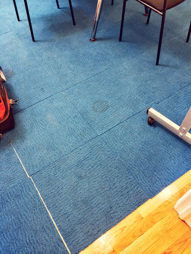 <p>The carpets could use a cleaning, but no matter. &quot;We have everything we need,&quot; says senior marketing manager Ryan Merchant, who used to work at so-cute-it-hurts Fab.</p>